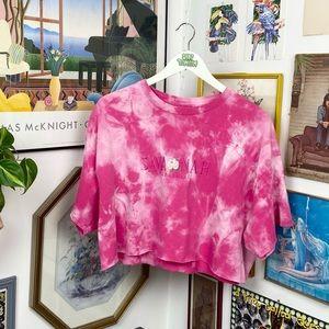 Vintage Savannah Georgia Cropped T-Shirt